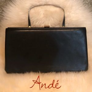 Vintage 🖤 Andé Evening Bag Black Handbag